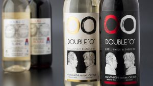 "Double ""O"" Japan Airlines wines"