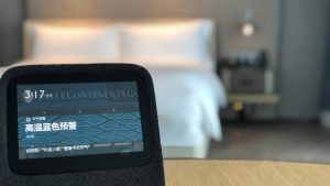 IHG and Baidu Smart Room technology
