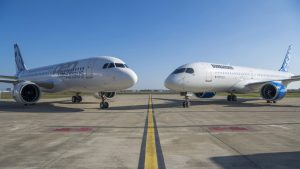 Airbus A320 and Bombardier CSeries