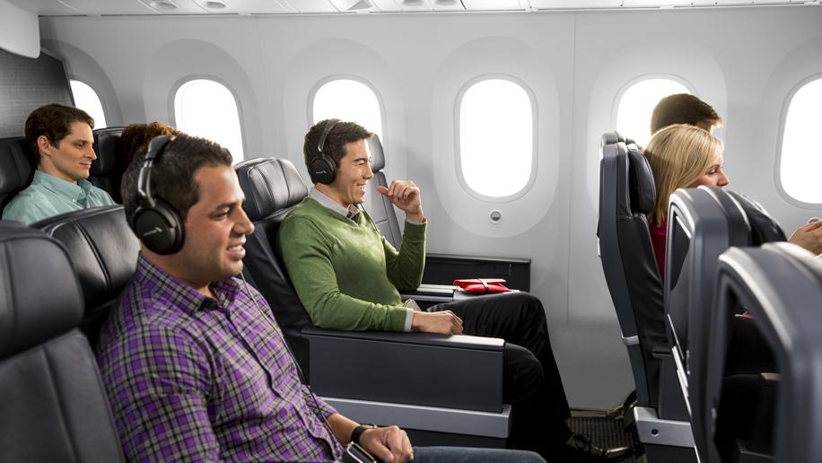 Premium Economy Cabin on new AA 787