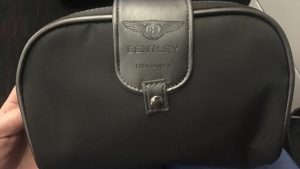Turkish Airlines Bentley business class amenity kit