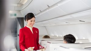 Cathay Pacific Business Class Dining Concept