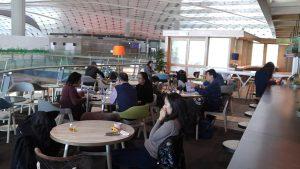 Club Autus dining area