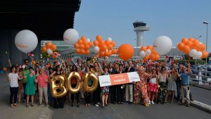 Easyjet's 1,000th route will be between Manchester and Bordeaux