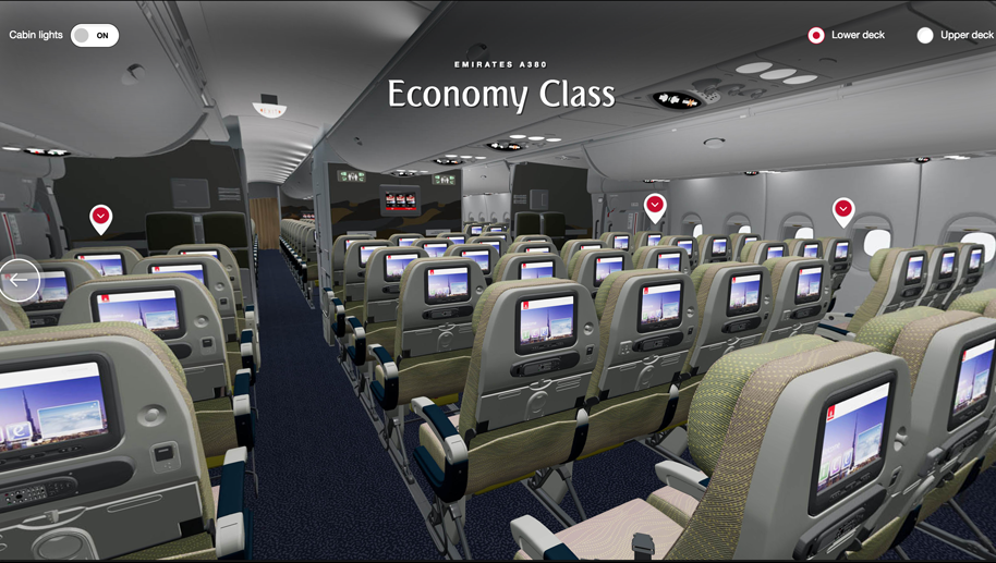 Emirates Launches Virtual Reality View Of A380 Interiors Business