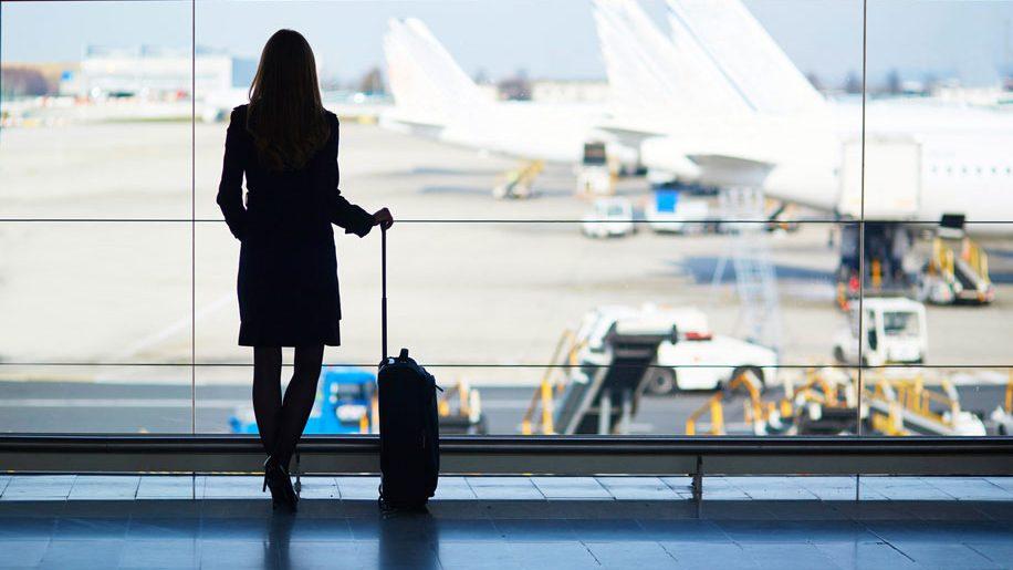 Female business traveller (iStock)