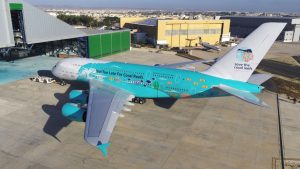 The big picture: Hi Fly unveils coral reef-themed A380