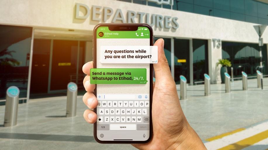 Etihad Airways launches WhatsApp service