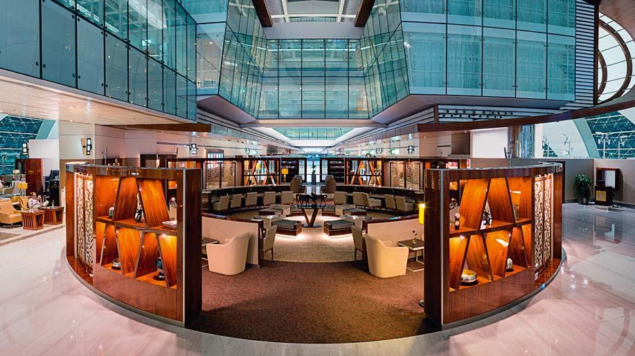 Lounge review: Emirates Business Class Lounge, Dubai ...