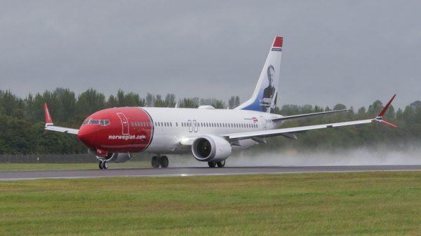 Norwegian B737 Max