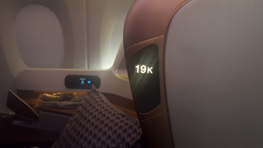 Flight review: Singapore Airlines A350-900ULR business class (SQ21 ...