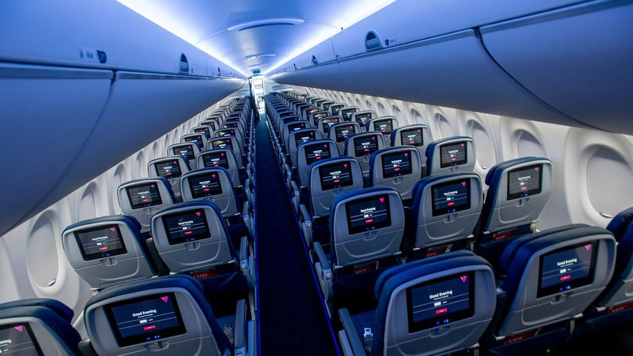 The Big Picture Delta Unveils A220 Interiors Business Traveller