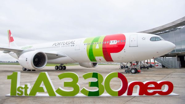 Delivery of first A330-900neo to TAP Air Portugal