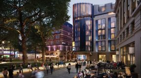 The design of the upcoming Londoner hotel in Leicester Square