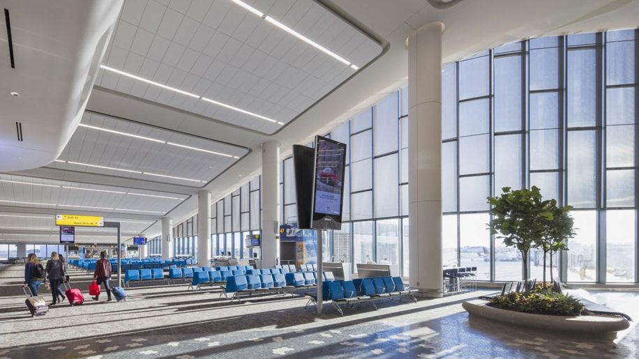 Laguardia Airport Unveils New Concourse At Terminal B