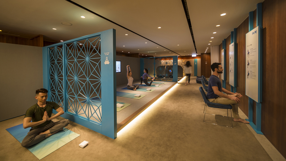 Cathay Pacific Opens Yoga And Meditation Space At The Pier