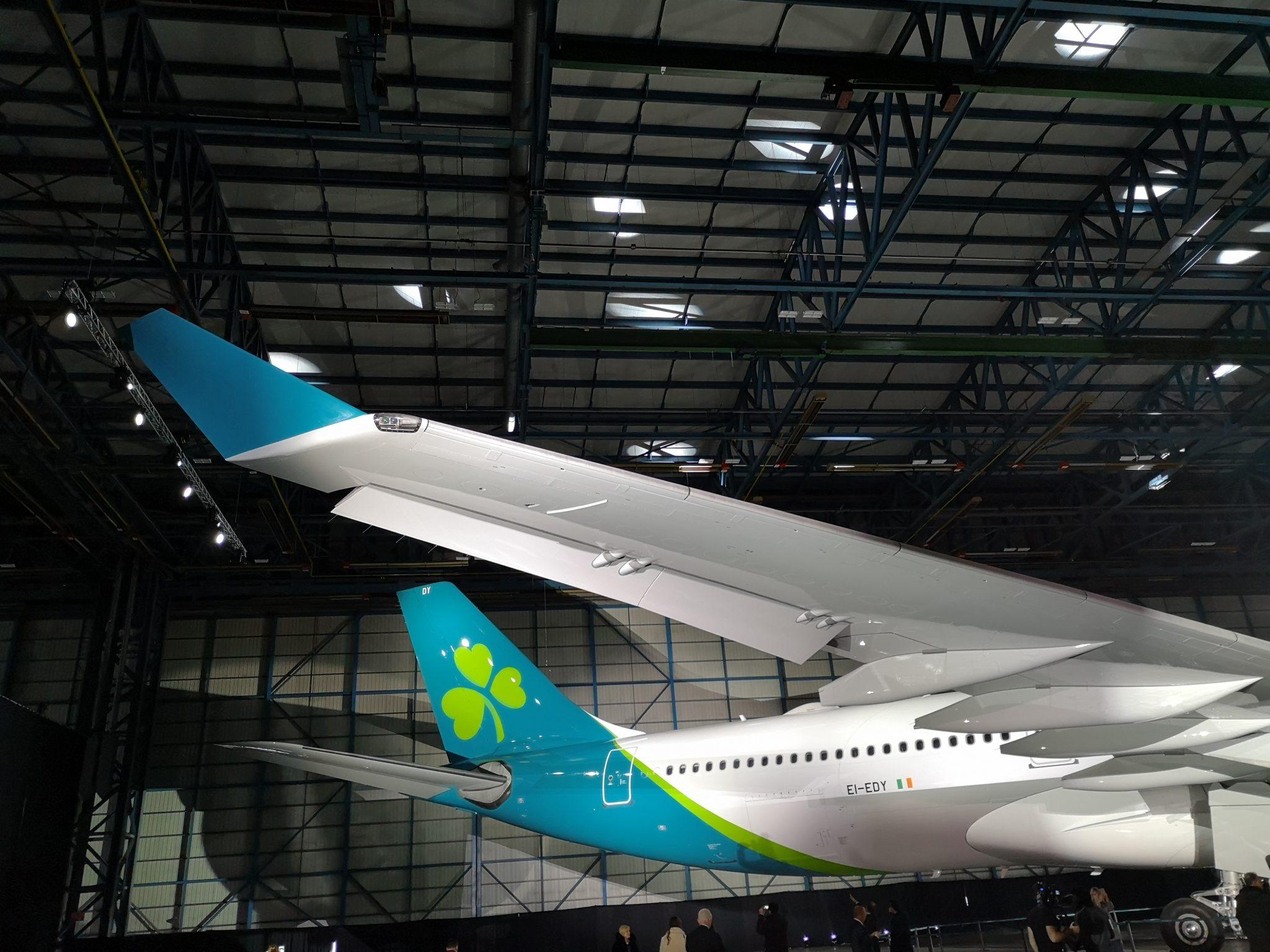 Aer Lingus unveils rebrand as carrier aims for transatlantic growth