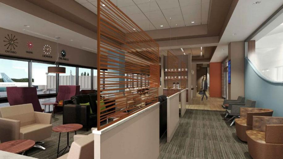 Lounge Debuts At California S Ontario Airport Business