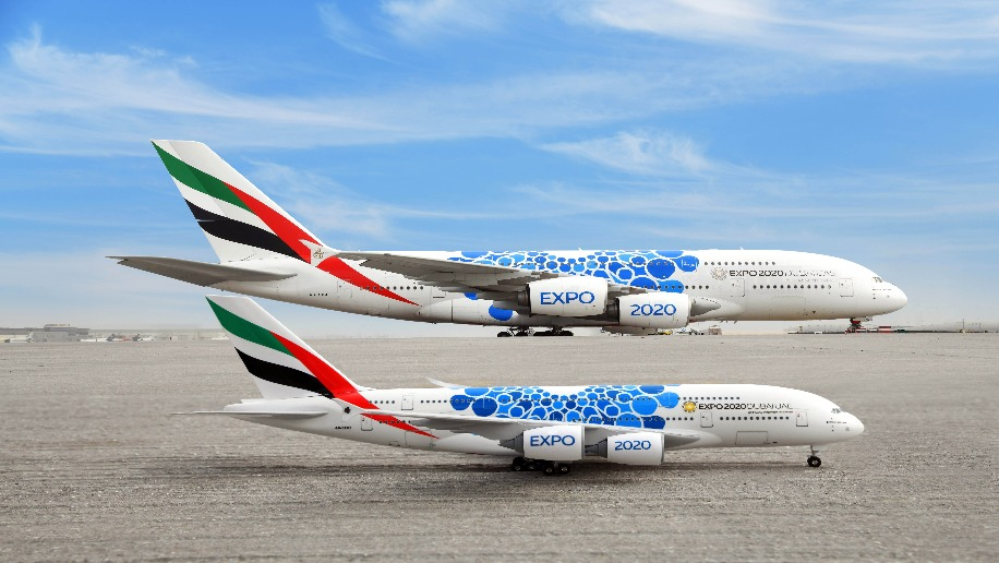 Emirates Expo 2020 Themed Aircraft Launched Business Traveller