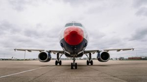 British Airways A320 dons Red Nose for Comic Relief