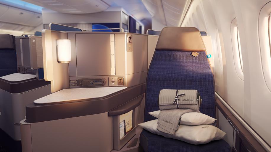 United Airlines Update Polaris Premium Economy And Customer Service Business Traveller,Bathroom Tile Flooring Designs