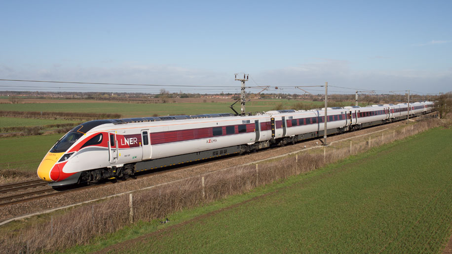 Lner Begins Rollout Of Azuma Trains Business Traveller