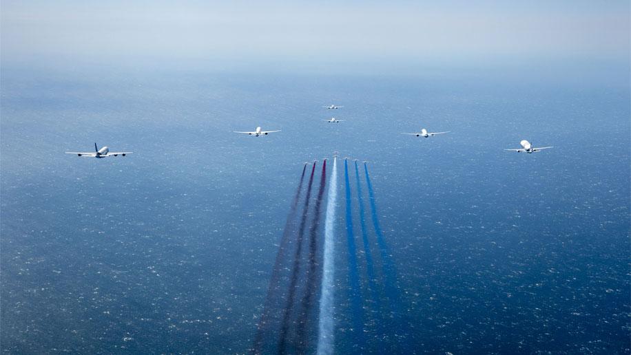Puente aéreo de Airbus