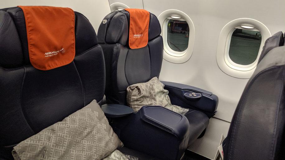 Flight review: Aeroflot A320 business class – Business Traveller