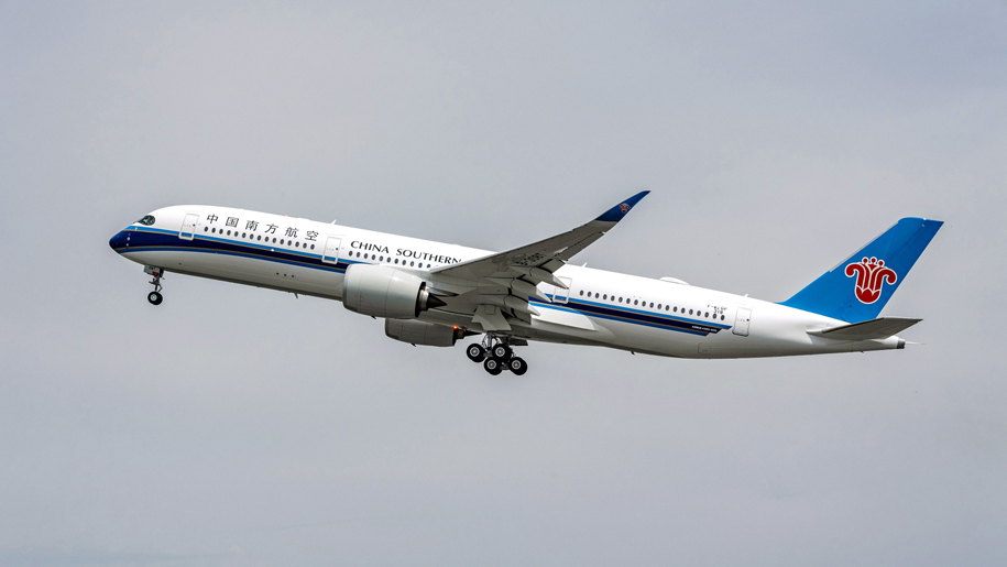 China Southern Airlines Takes Delivery Of Its First A350