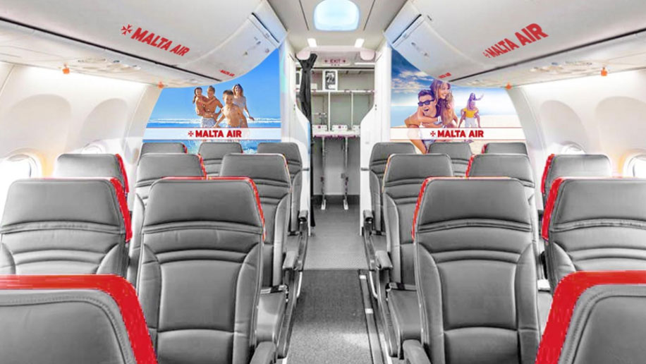 Malta Air interior
