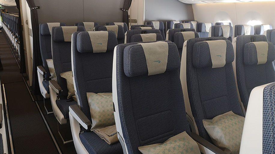 British Airways A350-1000 economy