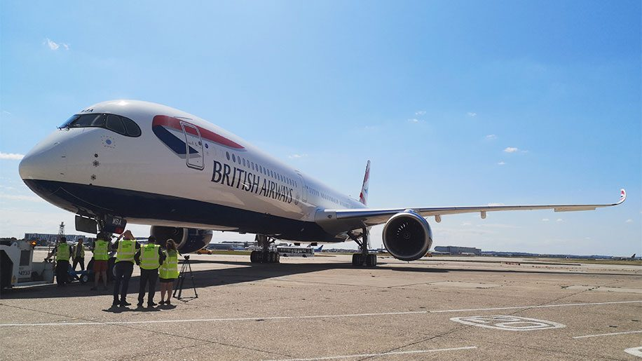 British Airways A350-1000