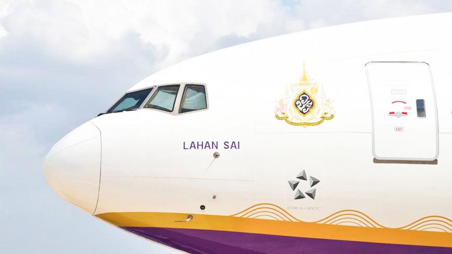 GeminiJets Thai Airways International Suphannahong Royal Barge Boeing 777-300 GJ
