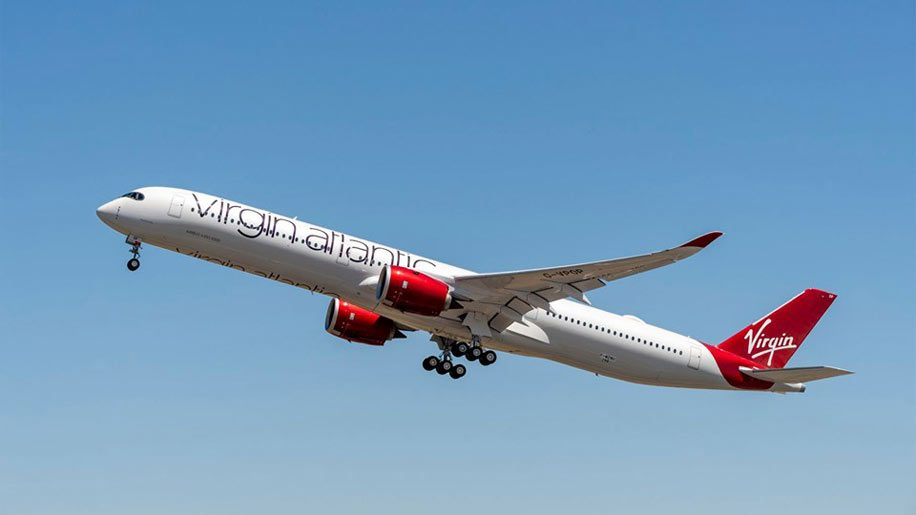 Virgin Atlantic A350-1000. Credit: Airbus/A Doumenjou/Master Films