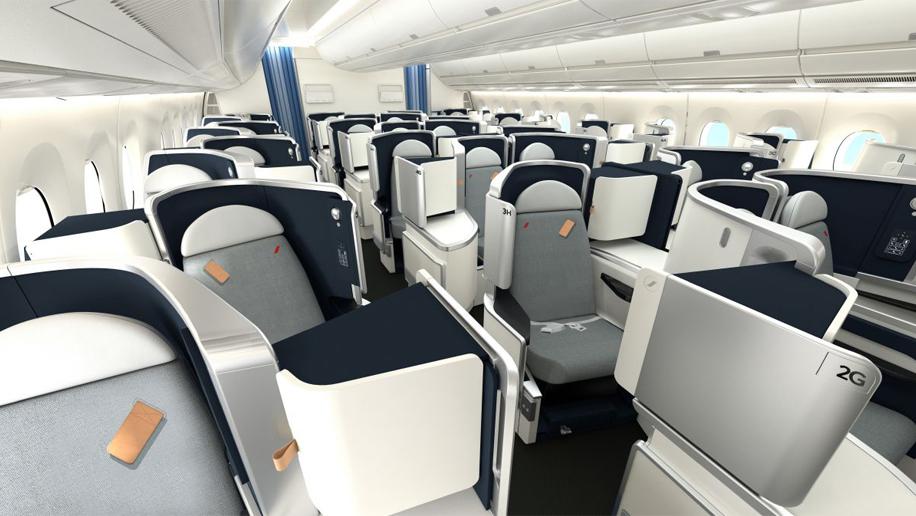 Flight Review Air France A350 900 Business Cl