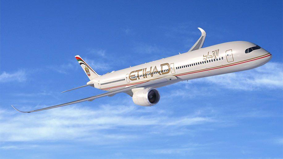 Etihad A350-1000 rendering. Image credit: Airbus