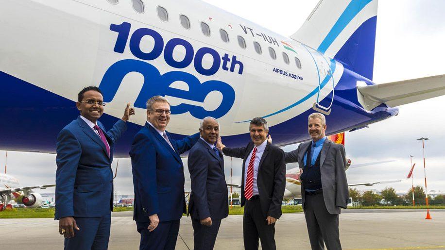 Airbus entrega a 1000ª aeronave da família A320 neo