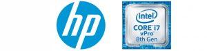 HP Intel logo