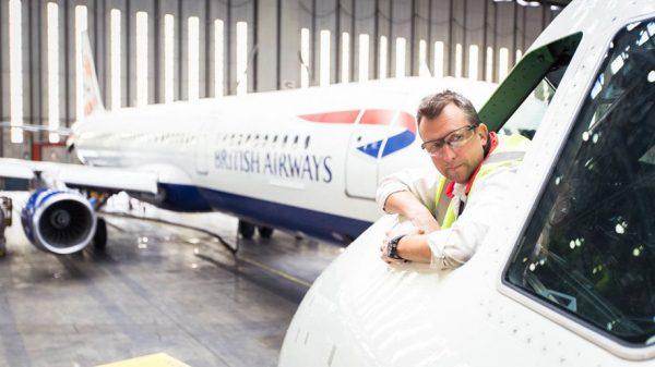 British Airways engineer