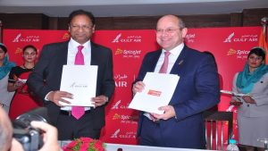 Spicejet and Gulf Air sign MoU to explore codeshare and engineering services