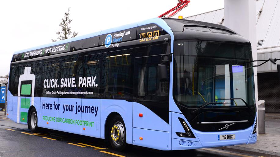 Birmingham Airport rolls out electric bus fleet – Business Traveller