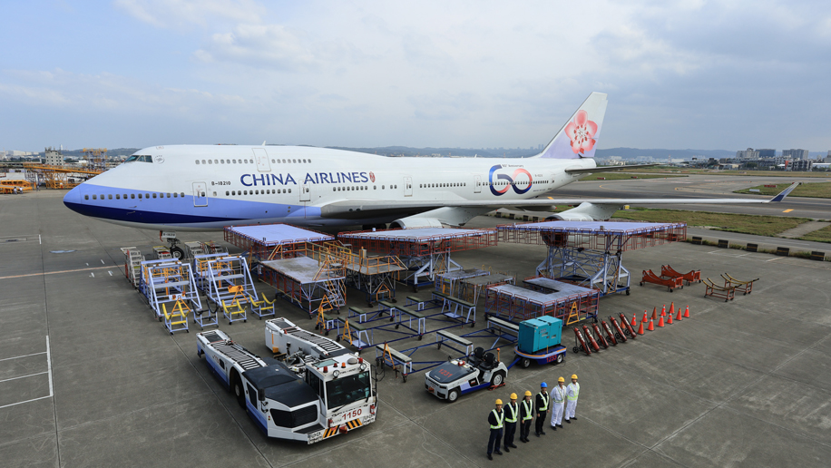 China Airlines now has six aircraft with its special 60th anniversary livery – Business Traveller