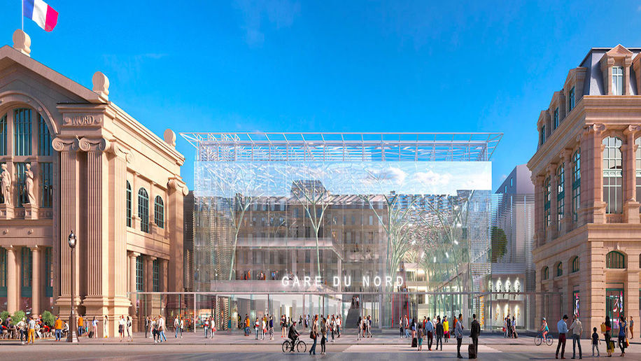 Plans for Gare du Nord airport-style revamp criticised