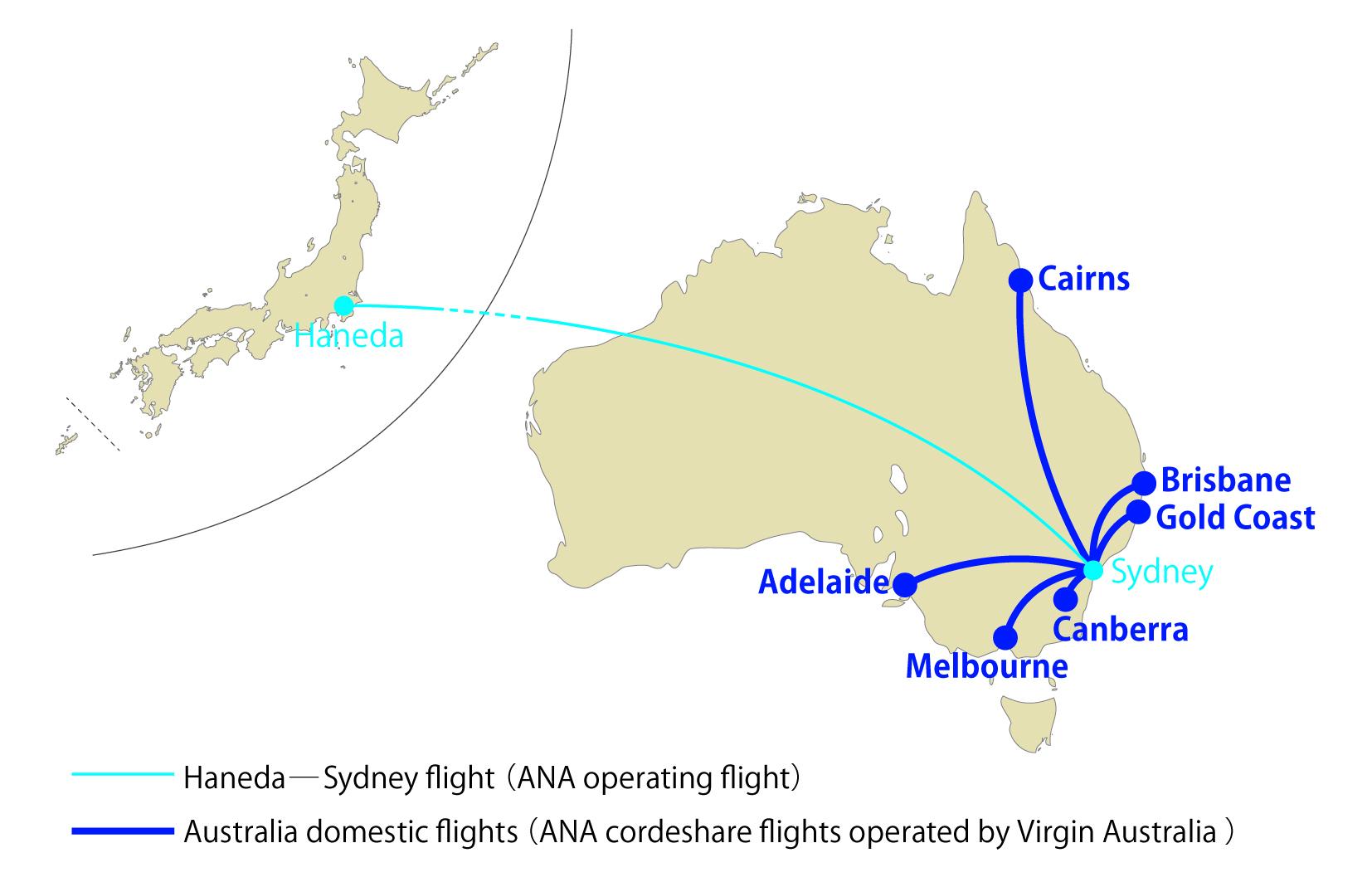 Ana And Virgin Australia Launch Codeshare Business Traveller
