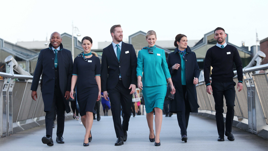Aer Lingus unveils new uniforms – Business Traveller