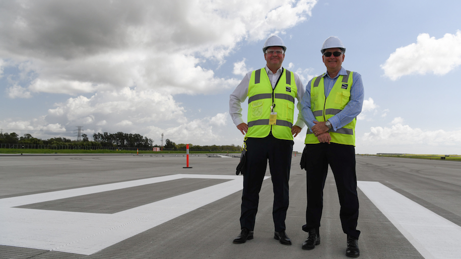 Brisbane Airport's new runway to launch in July - business traveller