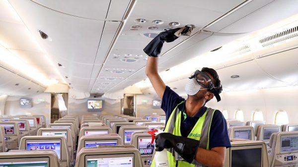 Emirates flights undergo enhanced cleaning