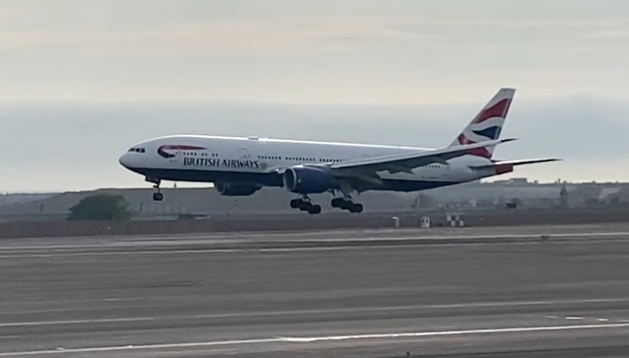 Video: British Airways rescue flight from Lima, Peru - business traveller