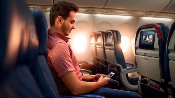 Passenger on a Delta flight