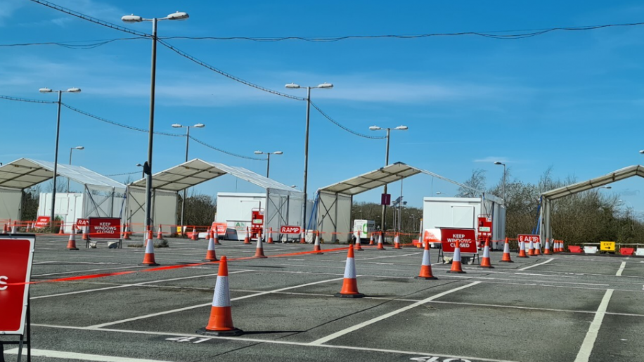 Gatwick Airport's long-stay car park becomes drive-through testing centre - business traveller
